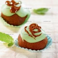 photo recette Gâteau chocolat menthe