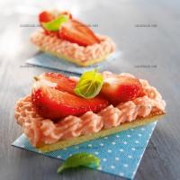 photo recette Moelleux à la fraise