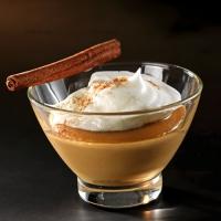 photo recette Nuage blanc sur crème de spéculoos