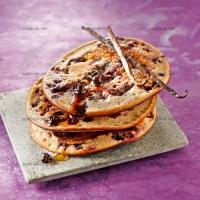 photo recette Pancakes vanille myrtilles