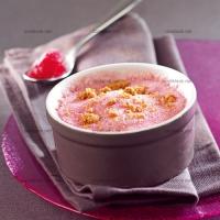 photo recette Soufflé glacé à la framboise
