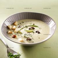 photo recette Soupe de courgettes et escargots