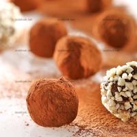 photo recette Truffes au chocolat