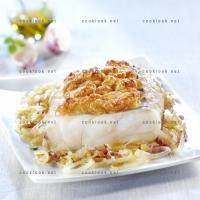 photo recette Cabillaud en croûte de Manchego