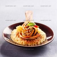 photo recette Couscous makfoul