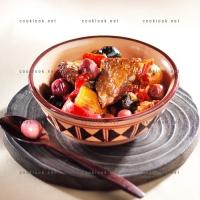 photo recette Tajine d'agneau aux olives