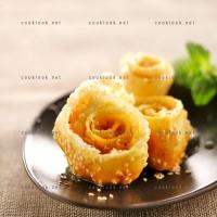 photo recette Roses façon chebbakiya