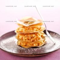 photo recette Pastilla aux amandes en millefeuille