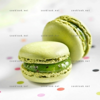 photo recette Macarons au kiwi