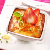 photo recette Amandine fraise
