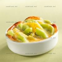 photo recette Gratin kiwi et ananas