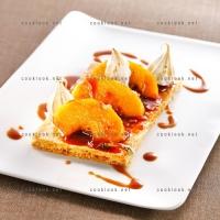 photo recette Feuilleté croustillant aux pommes caramélisées