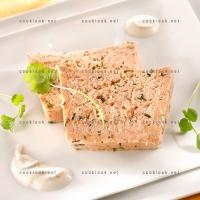 photo recette Terrine de saumon aux herbes