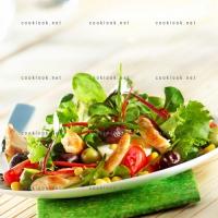 photo recette Salade de toutes les couleurs