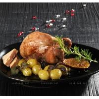 photo recette Caille farcie au foie gras, raisin et figue