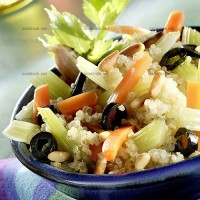 photo recette Etuvée de céleri au quinoa