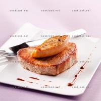 photo recette Thon et foie gras en sauce grand veneur chocolat