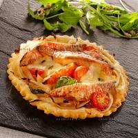 photo recette Tartelettes aux rougets barbets