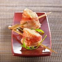 photo recette Roulés de St Jacques et rougets barbets