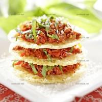 photo recette Croustillants de parmesan et tomates séchées