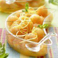 photo recette Melon aux notes poivrées
