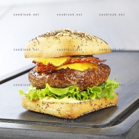 photo recette Hamburger aux 2 fromages