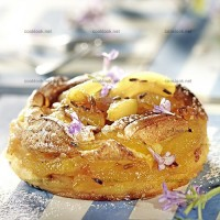 photo recette Galette soufflée à l'abricot