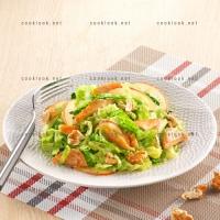 photo recette Salde de poulet au chou