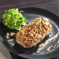 photo recette Timbale de dinde aux champignons et amandes