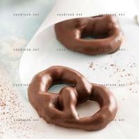 photo recette Bretzel chocolaté