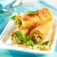 photo recette Cannelloni aux asperges vertes