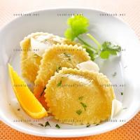 photo recette Raviolis carottes et coriandre