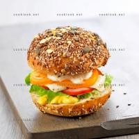 photo recette Hamburger végétarien