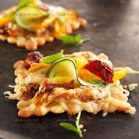 photo recette Tartelettes croustillantes aux légumes