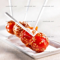 photo recette Tomates cerise caramélisées