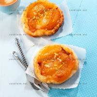 photo recette Tatin de pommes et poires au gingembre