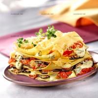 photo recette Lasagnes de légumes au bleu