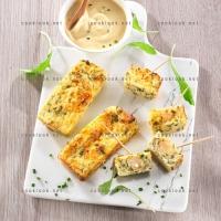 photo recette Petits cakes marins