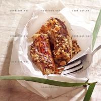 photo recette Banane et pâte à tartiner en papillote