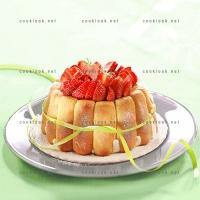 photo recette Charlotte aux fraises