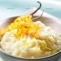 photo recette Riz vanillé au lait d'amande