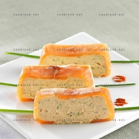 photo recette Terrine de mousse de saumon