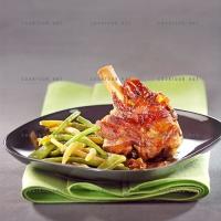 photo recette Souris d'agneau et 3 haricots