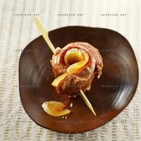 photo recette Brochette de canette au gingembre confit