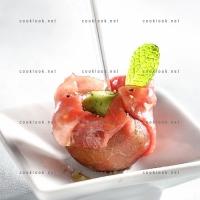 photo recette Mini aumônières de boeuf aux fèves