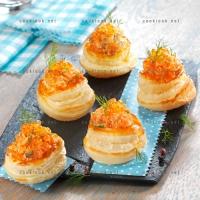 photo recette Bouchées au saumon