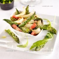 photo recette Salade chaude d'asperges