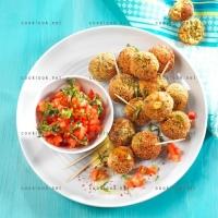 photo recette Boulettes de veau et concassée de tomates
