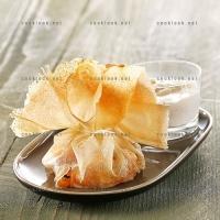 photo recette Papillote d'abricot et ricotta à la fleur d'oranger