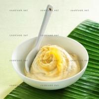 photo recette Crème de mangue